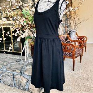 Cynthia Rowley Black Sleeveless Dress Large
